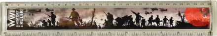 World War One History Timeline Ruler Plastic